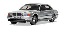 James Bond Bmw 750I Tomorrow Never Dies 1/36