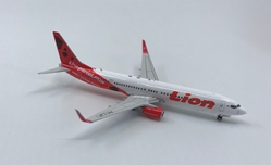 "Lion Air B737-900ER ""LionParcel.com"" PK-LJF ((1:400)) - , Phoenix (1:400) Scale Diecast Aircraft, Item Number PH4LNI1826"