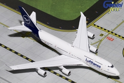 "Lufthansa 747-400 ""D-ABVM"" New Livery (1:400) by GeminiJets 400 Diecast Airliners Item Number: GJDLH1826"