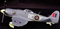 Sea Fury RCN 803 Sq 1949 (1:72) by Witty Wings Diecast Fighters SKU WTY72015-008