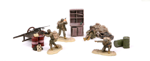 U.S. 36th Infantry Regiment So (1:32) by Forces of Valor