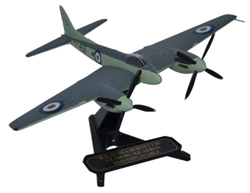 de Havilland DH.103 Sea Hornet F.Mk.20, 801 Naval Air Squadron, HMS Implacable, Royal Navy, 1949-1950 (1:72), Oxford Diecast 1:72 Scale Models Item Number 72HOR004