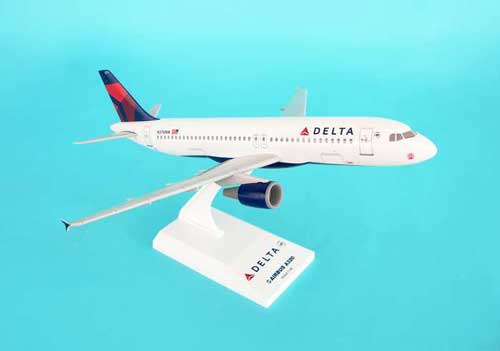 "Delta A320 ""New Livery"" (1:150), SkyMarks Airliners Models Item Number SKR519"