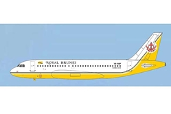 Royal Brunei Airlines A319 V8-RBP (1:400), AeroClassics Models Item Number AC19149