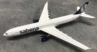 Sabena A330 OO-SFO Late 1990s Colors (1:400), AeroClassics Models Item Number AC19182