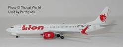 Lion Air 737 Max9 N739EX (1:400) by AeroClassics Models Item Number: AC419331