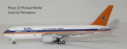 SAL South African 767-200 ZS-SRA Old Colors (1:400) by AeroClassics Models Item Number: AC419455