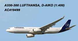 Lufthansa A330-300 D-AIKO (1:400) by AeroClassics Models Item Number AC419499