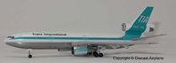 Trans International Airlines DC-10-30 N101TV (1:400)