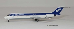 Republic DC-9-30 N908H (1:400)