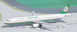 EVA Air A321 B-16201 (1:400), AeroClassics Models Item Number ACEVA0416