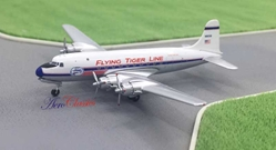 Flying Tigers DC-4 N86581 (1:400), AeroClassics Models Item Number ACFTL0117