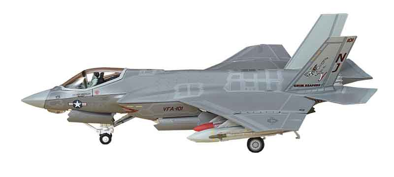 "F-35C Lightning VFA-101 ""Grim Reapers,"" Eglin Air Force Base (1:72), Air Force 1 Diecast Item Number AF1-0010A"