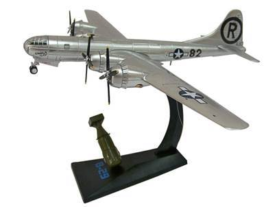 B-29 Superfortress World War II Bombers, Die cast Airplane and