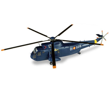 Agusta SH-3D Sea King, Spanish Navy (1:72), ALTAYA Item Number ALCH03