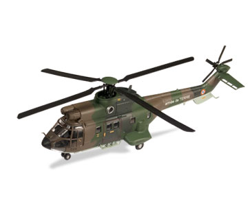 Aerospatiale AS332 Super Puma, French Army (1:72), ALTAYA Item Number ALCH04