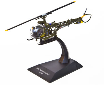 Bell H-13 Sioux, U.S. Army (1:72), ALTAYA Item Number ALCH15
