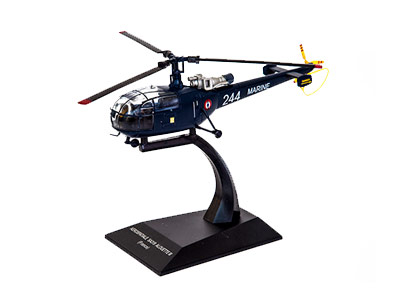 Aerospatiale SA.319B Alouette III, French Navy (1:72), ALTAYA Item Number ALCH39