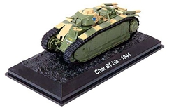 "Char B1 bis, ""Bourrasque,"" French Army, Battle of France, Spring 1940 (1:72), Amercom Diecast Item Number ACBG09"