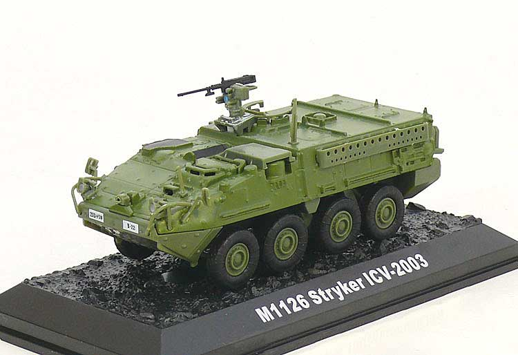 M1126 Stryker Infantry Carrier Vehicle, U.S. Army, 2003 (1:72), Amercom Diecast Item Number ACBG14