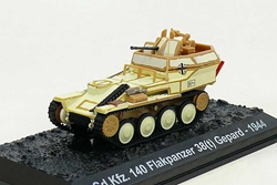Sd.Kfz.140 Flakpanzer 38(t) Gepard, 1st SS Panzer Division Leibstandarte SS Adolf Hitler, Battle of the Bulge, 1944 (1:72), Amercom Diecast Item Number ACBG33