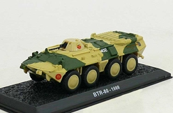 BTR-80 Amphibious Armored Personnel Carrier, Russian Army, 1999 (1:72), Amercom Diecast Item Number ACCS41