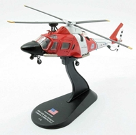 Agusta MH-68A Stingray, U.S. Coast Guard, 2004 (1:72), Amercom Diecast Item Number ACHY18