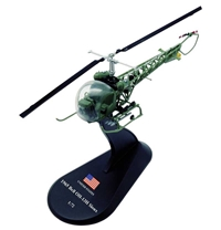 Bell OH-13 Sioux, U.S. Army, 1965 (1:72), Amercom Diecast Item Number ACHY31