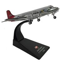 "Douglas C-54 Skymaster, Berlin Airlift ""Candy Bomber,"" Air Transport Command, USAF, 1948 (1:200), Amercom Diecast Item Number ACLB34"