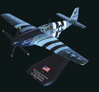 "P-51B Mustang, 1Lt. William Whisner, ""Princess Elizabeth"" U.S. Army Air Force (1:72), Amercom Diecast Item Number ACSL22-02"