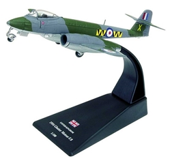 Gloster Meteor F.8, 74 Squadron, Royal Air Force, 1954 (1:100), Amercom Diecast Item Number ACSL43