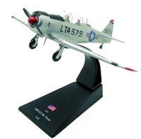 LT-6G Texan, USAF 6147th Tactical Control Group, Korea, 1953 (1:72), Amercom Diecast Item Number ACSL55