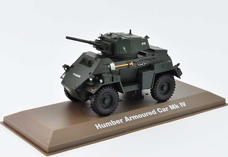 Humber Mk.IV Armoured Car 43rd Infantry Division, British Army (1:43), Atlas Editions, Item Number ATL-6690-014