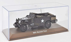 White M3 Scout Car U.S. Army (1:43), Atlas Editions, Item Number ATL-6690-020