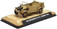 VW Kubelwagen Type 82 15th Panzer Division, Deutsche Afrika Korps, 1943 (1:43), Atlas Editions, Item Number ATL-7123-108