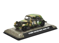 Citroen Traction Avant French Forces of the Interior, 1944 (1:43), Atlas Editions, Item Number ATL-7123-113