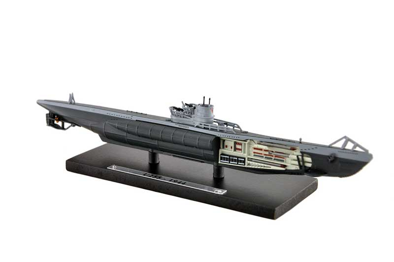 Type VIIC Submarine U-255, Germany, 1944 (1:350), Atlas Editions Item Number ATL-7169-114