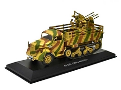 Sd.Kfz.3 Maultier German Army, World War II (1:43), Atlas Editions, Item Number ATL-7490-001