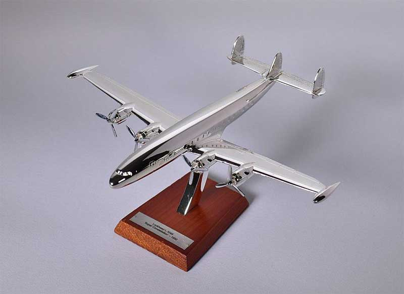 "Lockheed L-1049 ""Super Constellation,"" 1950 (1:200), Atlas Editions Item Number ATL-7504-003"