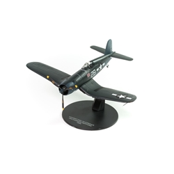 "Vought F4U-1a Corsair, 16-victory ace Ira Kepford, VF-17 ""Jolly Rogers,"" U.S. Navy, 1944 (1:72) by Atlas Editions Item number ATL-7896-024"