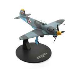 Yakovlev Yak-3 - 34-victory ace and Hero of the Soviet Union Sergey Lugansky, 157th GvIAP, Soviet Air Force, Romania, 1944