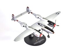"Lockheed P-38L Lightning, ""Pudgy (V),"" 38-victory ace Thomas McGuire, 431st FS, 475th FG, USAAF, 1945 (1:72) by Atlas Editions Item number ATL-7896-028"
