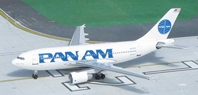 Pan American World Airways A310-222, N822PA 1990's Billboard Colors (1:400), Byrd Models Item Number VMN822PA