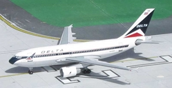 "Delta Air Lines A310-222 N835AB ""Widget Colors"" (1:400), Byrd Models Item Number VMN835AB"