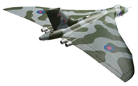 Avro Vulcan B2, XH558 'Vulcan to the Sky' Return to Flight October 2007 (1:72), Corgi Diecast Aviation Item Number AA27201