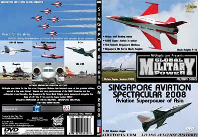 Singapore Aviation Spectacular 2008 (DVD), Air Utopia Aviation DVDs Item Number AUT54