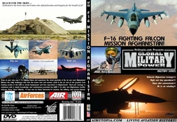 F-16 Cockpit: Mission Afghanistan (DVD), Air Utopia Aviation DVDs Item Number AUT80