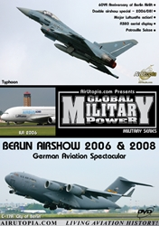 ILA Berlin Airshow 2006/ 2008 (DVD), Air Utopia Aviation DVDs Item Number AUT92