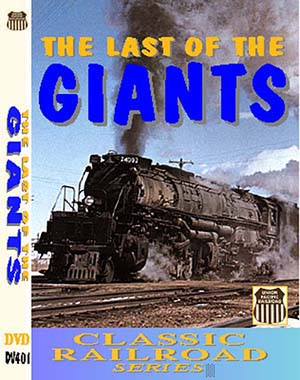Last of the Giants, Classic Railroad Series (DVD), Non-Fiction Video Aviation DVDs Item Number DV401