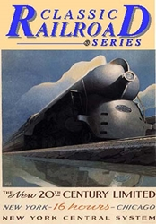 The New 20th Century Limited  New York Central System (DVD), Non-Fiction Video Aviation DVDs Item Number DV410